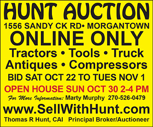 hunt auction sandy creek block