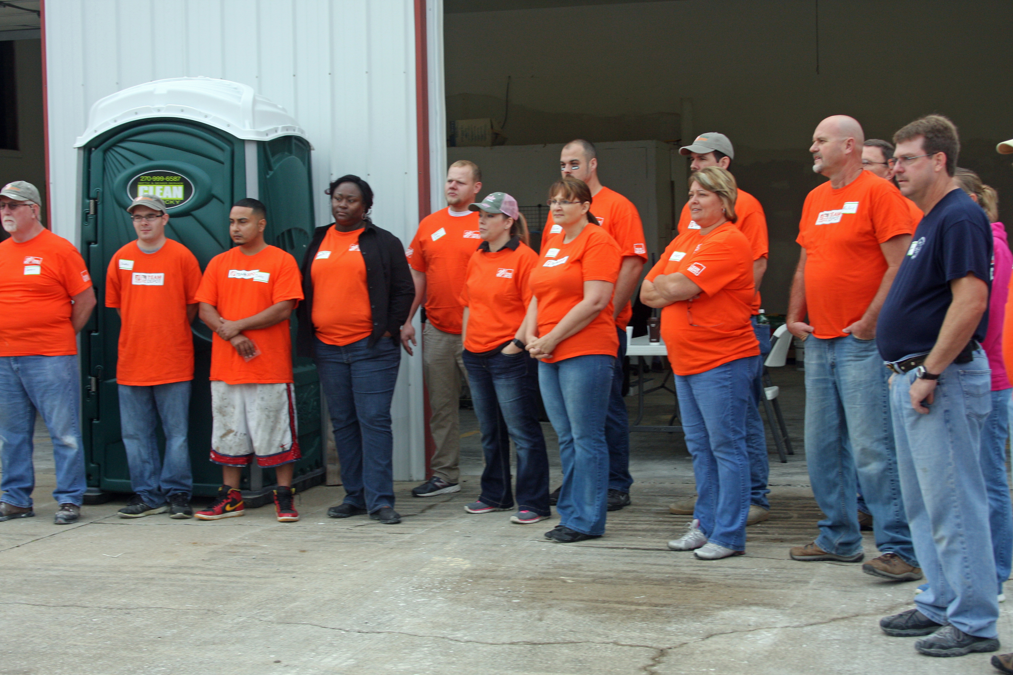 Home Depot Employees Invest in Butler County
