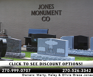 jones monument sale