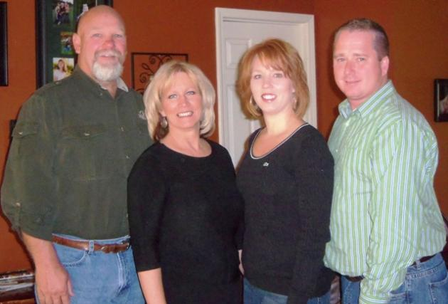 Shirley Flener, Angie Flener, Beth White and Louis White