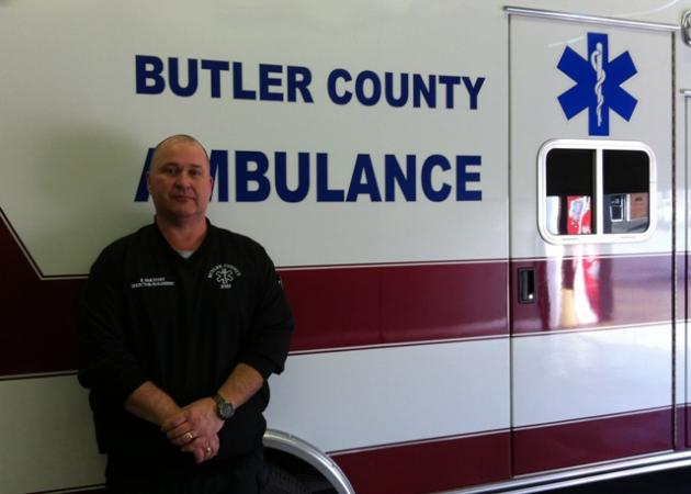 Butler County Ambulance Service Director Brian McKinney