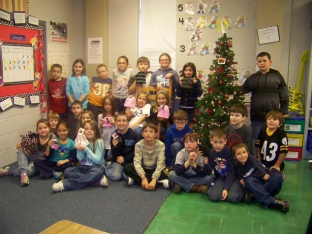 The students of Ms. Katrina Graham's class
