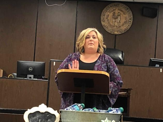 Tara McMillin, Class D Coordinator for the Butler County Jail