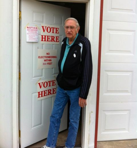 Don Lindsey voted.