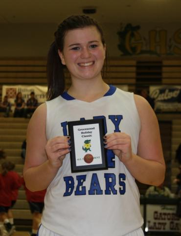 Katie Graham named to All-Tournament Team.