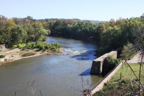 View of the Green River From The Green River Museum