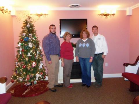 Michael Gary, Jan Jones, Missy Jones Gary, and Marty Jones