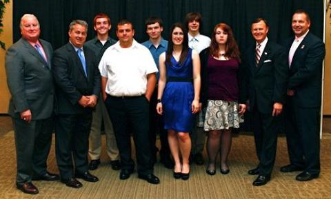 Butler County: Western Kentucky University honored six students from Butler Coun