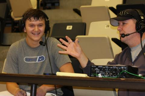 Blake Graham speaks with John Embry on WLBQ 1570 after the win.