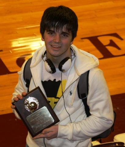Jackson Washer named MVP of game.