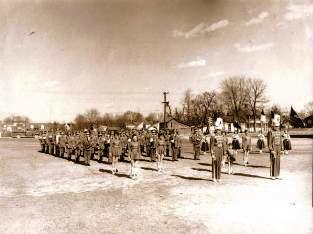 The 1957 BCHS Marching Band