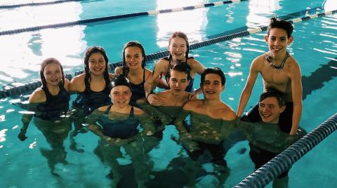 BCHS Swim Team