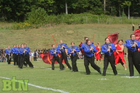 "BCHS Band ""on the field.""  (BtN file photo)"