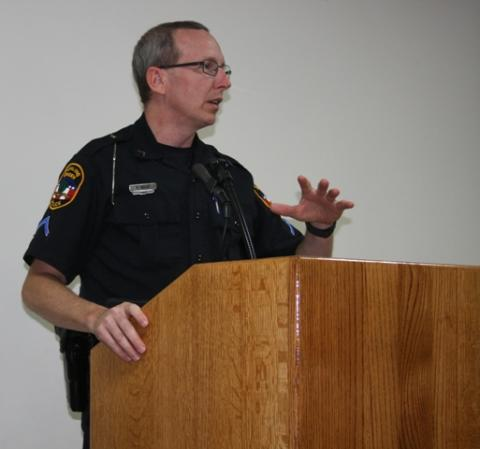 Ronnie Ward, BG Police Dept. Public Relations/Crime Stoppers