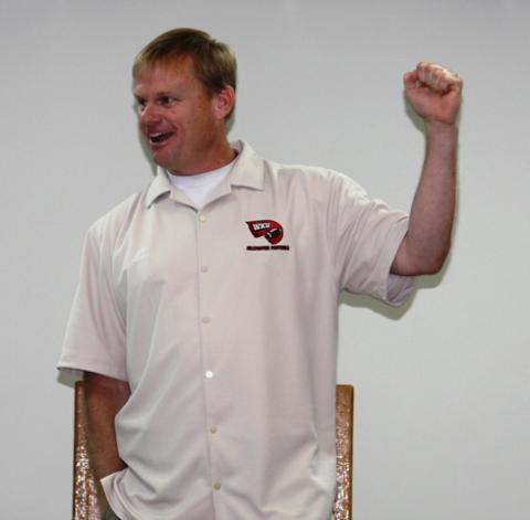 Coach Walter Wells, WKU Football Offensive Line/Running Back