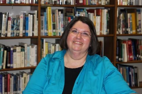NBES Principal Elaine Daugherty prepares to retire.