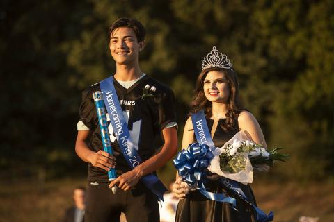 King Keaton Diaz and Queen Brooklyn Martin photos by Jeremy M. Hack