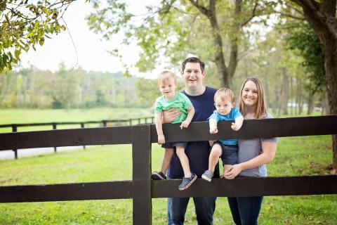 Tyler, Megan, Hayden and Hampton