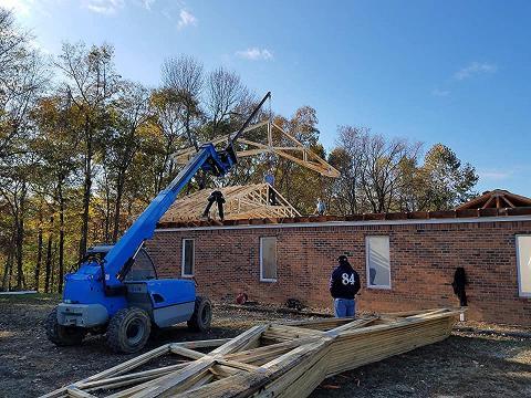 Rebuilding The Morgantown Nazarene Church Beech Tree