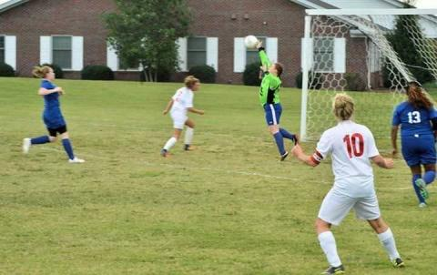 Journey Alford making an incredible save!