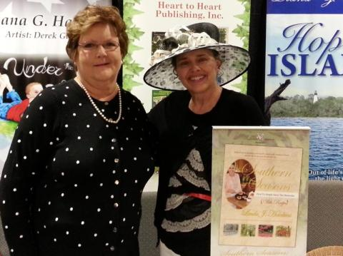 Author Linda J Hawkins and Author Diana Hankla