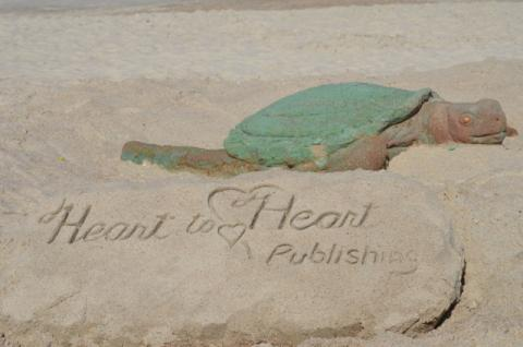 The Sea Turtle was so life-like that it was mistaken for a real one.Parents was making sure their little ones did not get to close. They feared a turtle laying eggs could be dangerous.