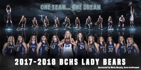BCHS Lady Bears Basketball 2017-18 (photo by Jeremy Hack)