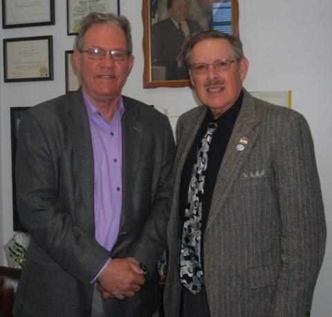 Bruce White and C.B. Embry Jr.