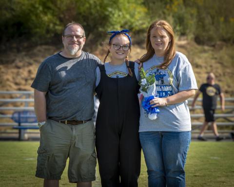 Brian Drake, Haley Drake, and Rhonda Drake