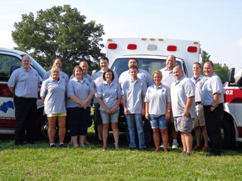 The Butler County Emergency Medical Services Team