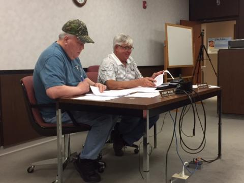 Fifth District Magistrate Bobby Moore and Fourth District Magistrate David Whittinghill,