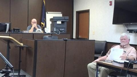 Magistrates Timmy Givens and Kevin Phelps