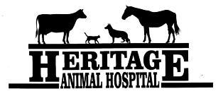 Brought to you by Heritage Animal Hospital