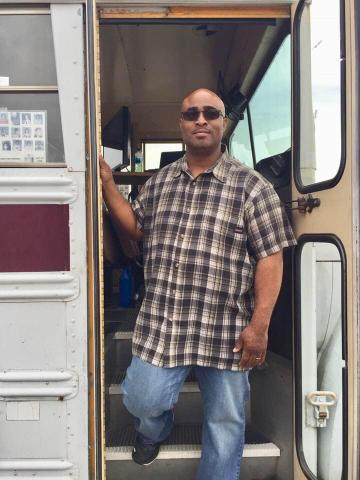Higgins, a survivor of the 1988 Carrollton Bus Crash, speaks