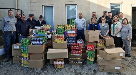 WRECC collected 3,500 items then doubled to equal 7,000.