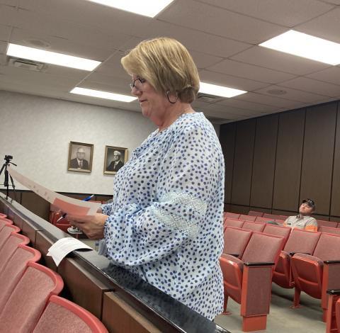 Butler County Clerk Sherry Johnson
