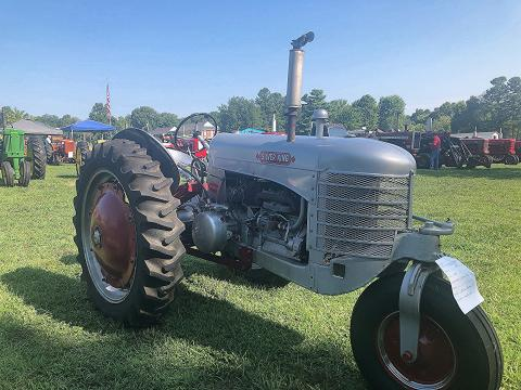 1948 Silver King Tractor owned by Charles Charlton of Franklin, KY