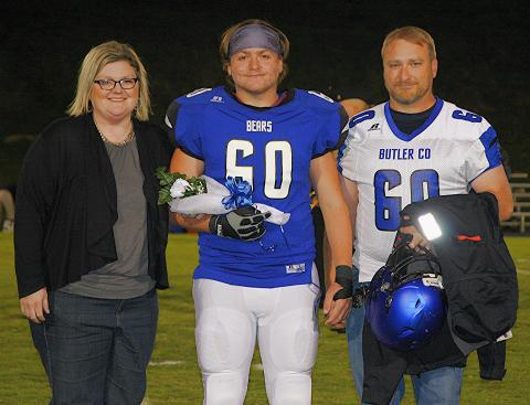 Weston Merritt and parents.