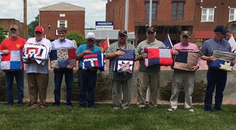 Recipients of Quilts of Valor