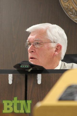 Butler County Judge Executive David Fields (file photo)