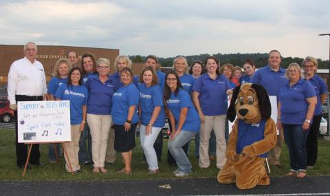 MB&T employees supported the Bears and promoted their Spirit Cards.