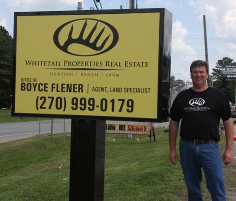 Whitetail Properties Land Specialist Boyce Flener