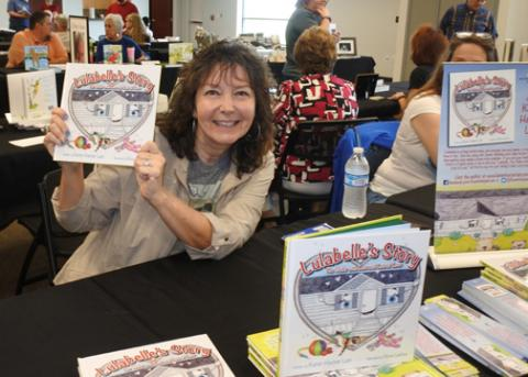 Karen Harper Lain at the Indie  Author Event