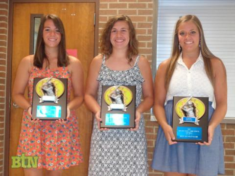 Madeline Drake, Amy Rogers, and Morgan Manning were selected as MVPs