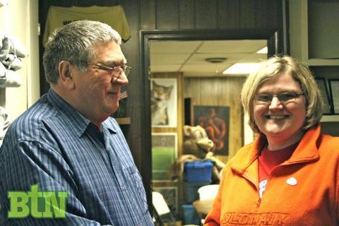 New city council members Allen Meredith and Dionne Merritt