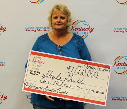 Shelia Grubb, photo provided by KY Lottery
