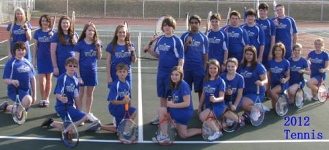 The Bears and Lady Bears tennis teams