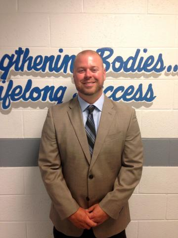 Tim Freeman, new principal at Butler County Middle School