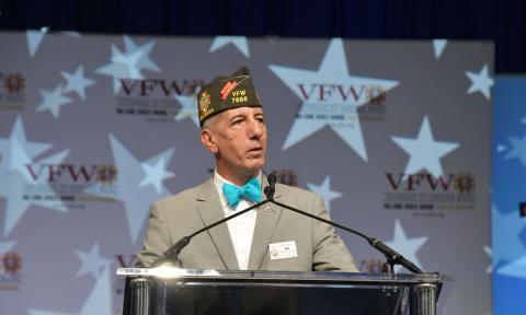 """Vincent """"B.J."""" Vincent VFW National Commander"""