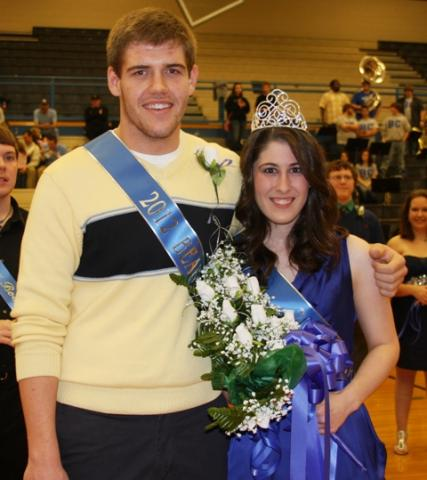 C.W. Decker and Madison Embry were crowned Bearfest King and Queen